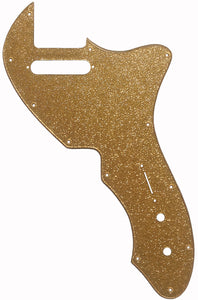 Fender Tele Thinline '69 Pickguard Gold Sparkle