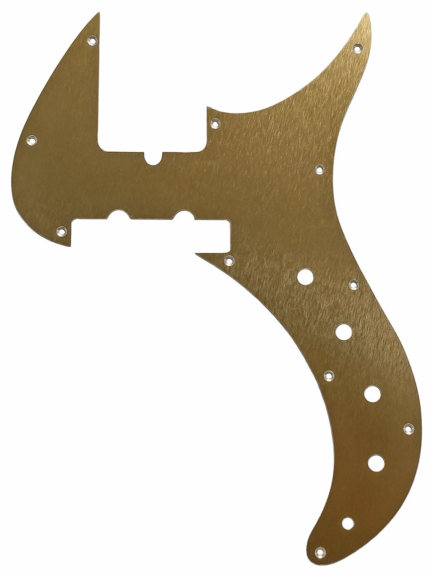 Fender Urge II Stu Hamm Bass Pickguard Anodized Gold Aluminum