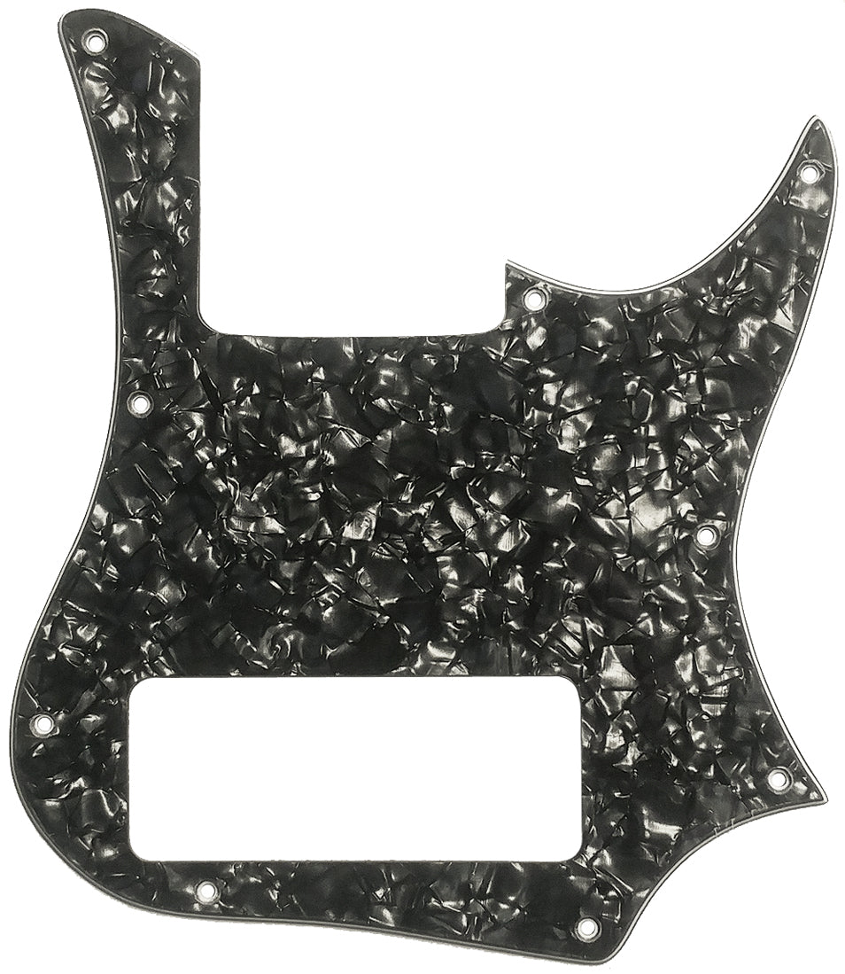 G&L M-2500 Bass Pickguard Black Pearloid