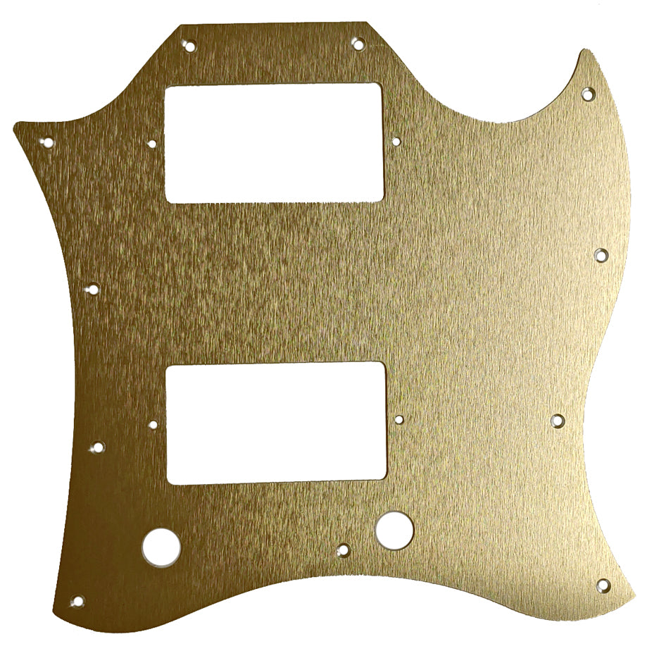 Gibson SG Large Pickguard Anodized Gold Aluminum