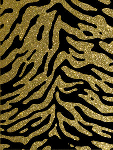 Pickguard Sheet Gold Sparkle Tiger