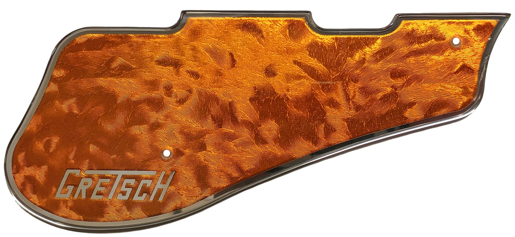 Gretsch 5420 Orange Florentine Chrome Border Pickguard