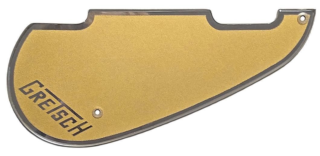 Gretsch 5435-5445 Gold with Chrome Border Pickguard