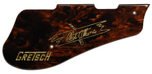 Gretsch 5420 Pickguard Brown Tortoise Shell with Engraved Gold Chet Atkins Sign Post