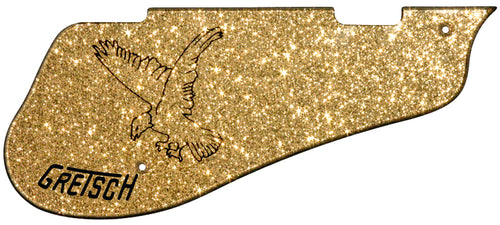 Gretsch 6136 Gold Sparkle Falcon Pickguard