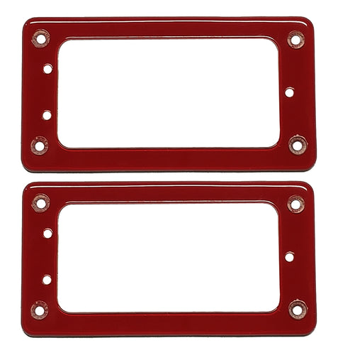 Gretsch Pickup Rings Red