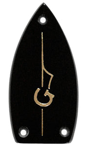 Gretsch Black with Gold Plated G-Arrow Truss Rod Cover