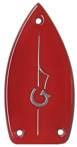 Gretsch Red with Chrome G-Arrow Truss Rod Cover