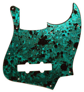 Michael Kelly Element 5 Pickguard Ocean Turquoise Gold Sparkle