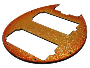 Music Man Bongo Pickguard Orange Burst Gold Sparkle