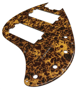 Music Man StingRay Special 5 Pickguard Honey Acrylic Shell