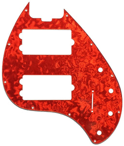 Music Man StingRay Special 5 Pickguard Red Florentine
