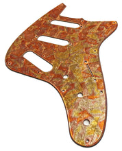 Reverend Six Gun TL Pickguard Red Variegated Gold Leaf