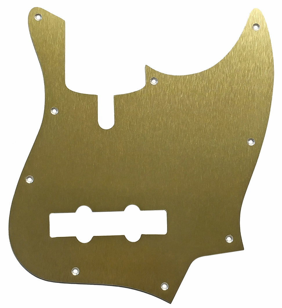 SireV7 Bass Pickguard Anodized Gold