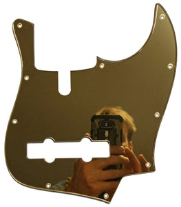 Sire V7 Bass Pickguard Gold Mirror