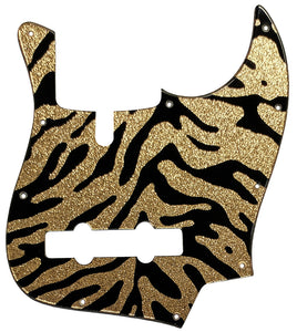 Allen Eden Disciple 5 Pickguard Gold Sparkle Tiger