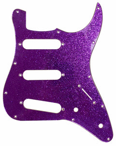 Squier Mini Strat Pickguard Purple Sparkle