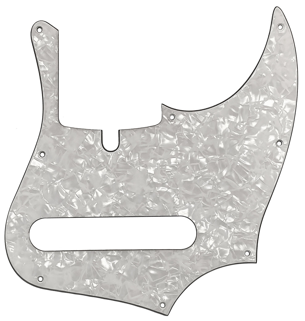Xotic XJ Provintage Bass Pickguard White Pearloid