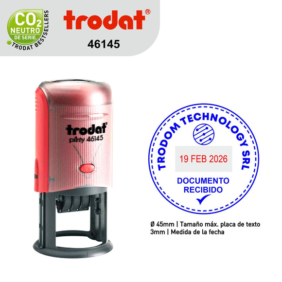 Sello Trodat Fechero 46145