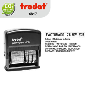 Sello Trodat Fechero 4817