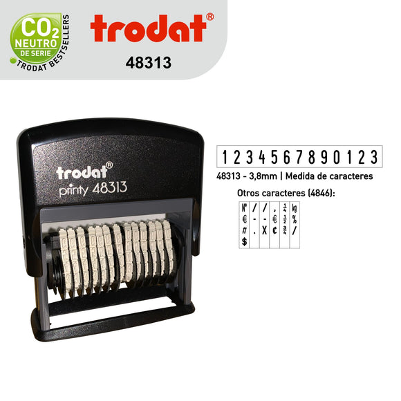 Sello Trodat Numerador 48313