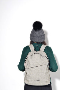 GOUSE - No.3 Grey Backpack High Quality Casual Cool Minimalist Rucksack
