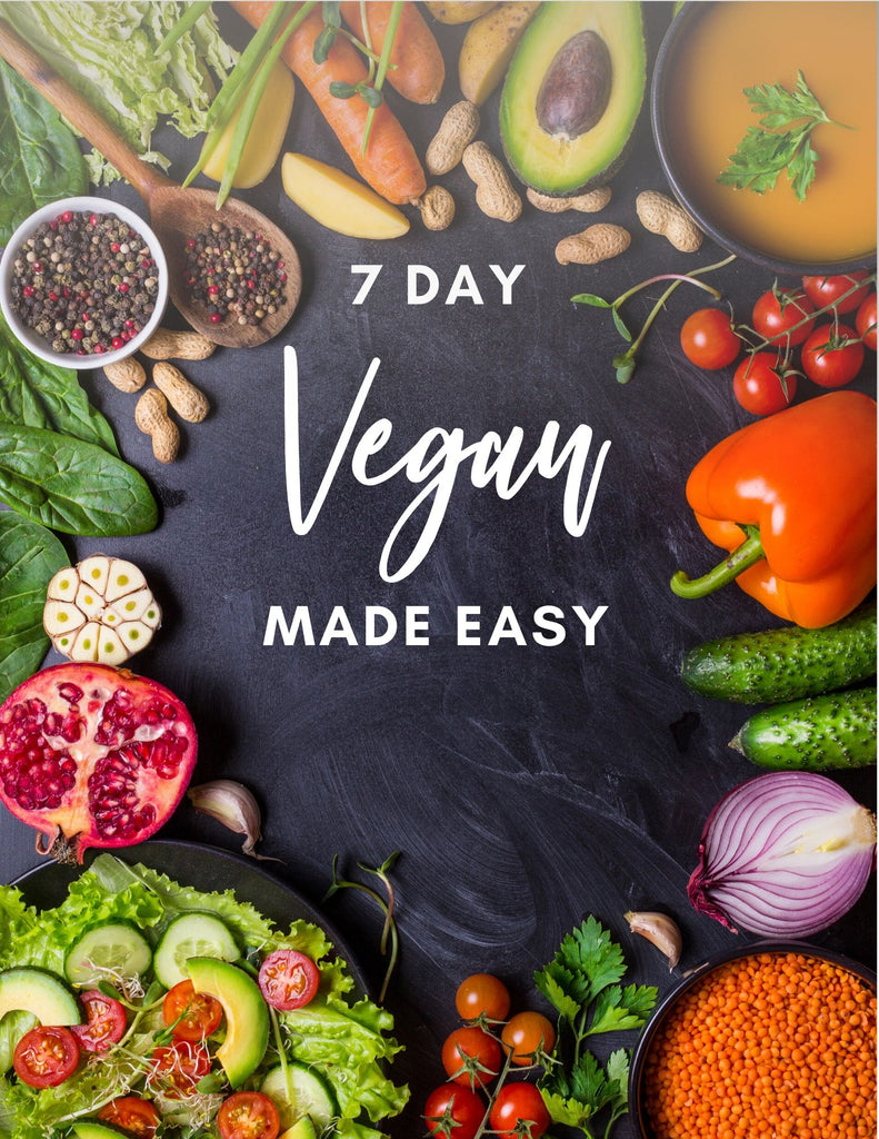 Lover's 7 Day Vegan Made Easy Recipe eBook!