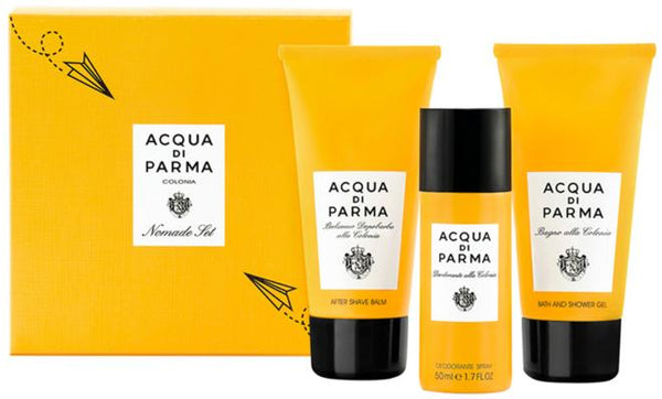 Acqua di Parma Colonia Nomade Set 75ml Aftershave Balm / 75ml Bath & Shower...