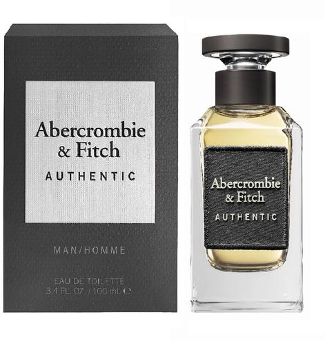 Abercrombie & Fitch Authentic Man 100ml EDT Spray