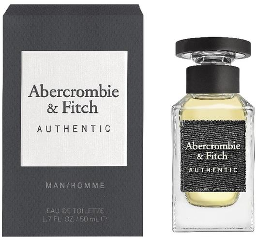 Abercrombie & Fitch Authentic Man 50ml EDT Spray