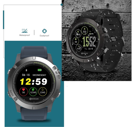 smartwatch with waterproof