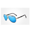 Aviator - Framed Polarized Sunglasses