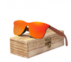 Bubinga - Wooden Polarized Sunglasses