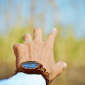 Personalized Engraved Wooden Watches - Ambila Wood Free Custom Engraving - HighStreetPop