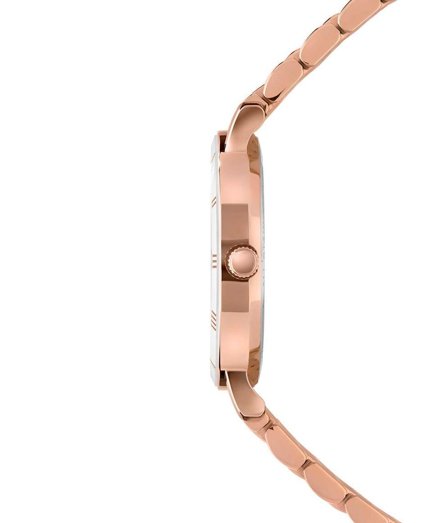 Roma - Swiss Ladies Rose Gold Watch