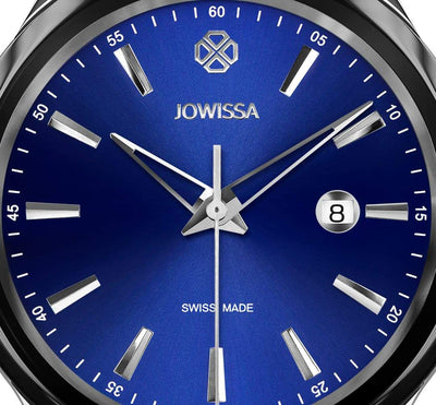 Tiro Swiss Men's Blue Dial Watch