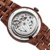 Men Dual Wheel Automatic Watch - Kosso Wood - HighStreetPop