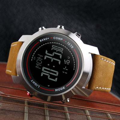Trek Leather Band Watch