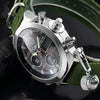 Silver Hour - Classic Analog Watch