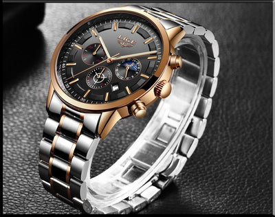 Fashion Luxury Business Quartz Watch for Men - HighStreetPop