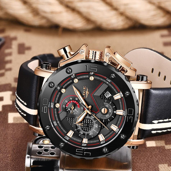 Luminous Military Quartz Chronograph Sport Watch for Men - HighStreetPop