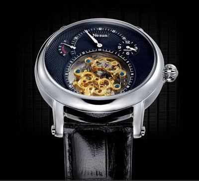 Hollow Tourbillon Mechanical Self Winding Automatic Watch for Men - HighStreetPop