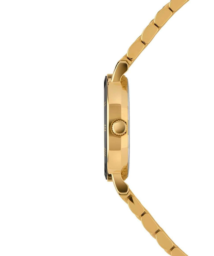 Roma Swiss Ladies Watch - Gold & Blue