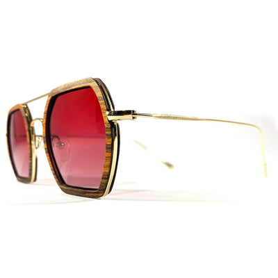 Little 5 Points - Rose Polarized Sunglasses