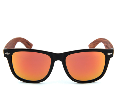 Wanderer Red - Real Rose Wood Sunglasses