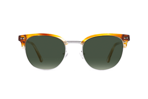 Hudson - Honey Oak Sunglasses - HighStreetPop