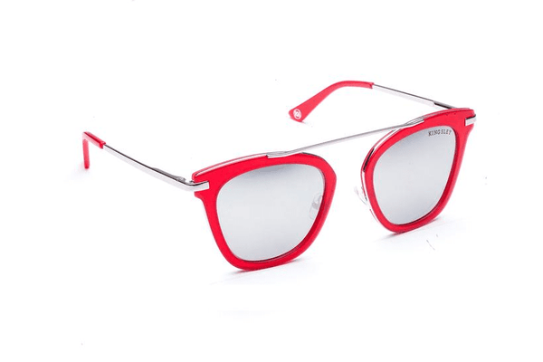 Miramar - Candy Red Sunglasses