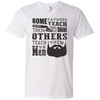 Image of Awesome Beard Shirts V-Neck T-Shirt