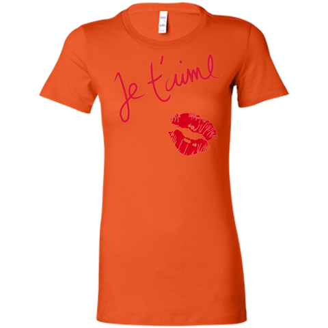 Je t'aime 6004 Bella + Canvas Ladies' Favorite T-Shirt