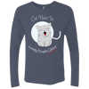 Image of Cats On Shirts Men's Triblend LS Crew